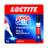 Loctite Clear Universal Super Glue Tube 3g 1620715