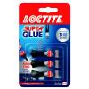 Loctite Super Glue Mini Trio 1g (Pack of 3) 1623763
