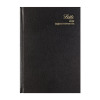 Letts Business Diary A5 Day Per Page Appointment 2020 Black 20-T12XBK