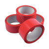 Red Polypropylene Tape 50mm x 66m Pack of 6 APPR-500066-LN