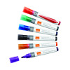 Nobo Assorted Liquid Ink Drywipe Markers (Pack of 12) 1901072