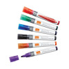 Nobo Assorted Colours Glide Drywipe Markers (Pack of 4) 1902096