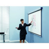 Nobo Matte White 99 inch Wall Projection Screen 1902393