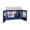 Nobo Blue Mini Desktop Display Kit 35231470