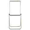 Nobo Grey Scirocco Flipchart/Drywipe Easel 33033412
