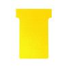 Nobo T-Card Size 3 80 x 120mm Yellow (Pack of 100) 32938915