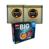 Nescafe Gold Blend Coffee 750g NL819849 (Pack of 2) NL819849 FOC Nestle Big Biscuit Box 12391006