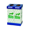 Acorn Office Twin Recycling Bin Blue /Green 802853