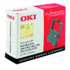 Oki Black Fabric Ribbon For Microline 390/391 9002309