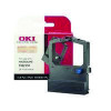 Oki Black Fabric Ribbon For Microline 520/521 9002315