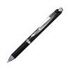 Pentel EnerGel Permanent Security Pen Medium Black (Pack of 12) BLP77-AX