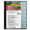 Pentel Recycology Wing Presentation A4 20 Pocket Black Display Book DCF442AI