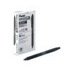 Pentel EnerGelxRetractable 0.7mm Black Liquid Gel Rollerball Pen (Pack of 12) BL107/14-A