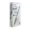 Pentel EnerGel Xm Retractable Liquid Gel Black Pen (Pack of 12) BL77-A