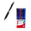 Pentel EnerGel Xm Retractable Liquid Gel Pen Black Pack of 12 plus Assorted Markers FOC PE811463