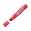 Pentel Marker Chisel Tip Red (Pack of 6) N50XL-B