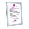 Photo Album Company Silver Secure It Aluminium A2 Frame PASFA2B