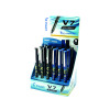 Pilot V7 Hi-Tecpoint Rollerball Pen 24 Piece Display Black and Blue 101502400 (Pack of 24)