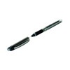Pilot V5 Rollerball Pen Rubber Grip Needle Point 0.5mm Tip 0.3mm Line Red Ref BXGPNV502 [Pack 12]