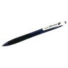 Pilot Black BeGreen RexGrip Retractable Ballpoint Pen (Pack of 12) BRG10MBG01