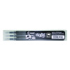 Pilot Black FriXion Pro Erasable Rollerball Pen Refills (Pack of 3) 075300301