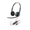 Plantronics Blackwire Binaural C3220 usb-a 209745-101