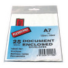 A7 Document Enclosed Envelopes For Parcels (Pack of 25) 57167110