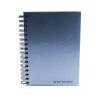 Pukka Wirebound A5 Notebook Feint Ruled 160 Pages Silver (Pack of 5) WRULA5