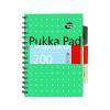 Pukka Metallic Project Book A5 Pack of 3 8560-MET