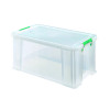 StoreStack 54 Litre Clear W640xD380xH310mm Storage Box RB77234