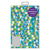 Regent Triangles Gift Wrap and Tag (Pack of 12) f402