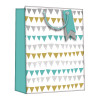 Regent Gift Bags Bunting Medium (Pack of 6) Z728M