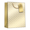 Regent Gift Bags Gold Art Deco Medium (Pack of 6) Z729M