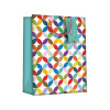Regent Gift Bags Bright Link Geometric Large (Pack of 6) Z730L