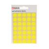 Blick Flourescent Labels in Bags Round 13mm Dia 140 Per Bag Yellow (Pack of 2800) RS004752