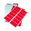 Blick Red Labels in Office 25mm x 50mm (Pack of 320) RS019954