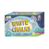 Study Time Chalk White Pack of 100 EDU211