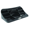 Durable Catch-All Insert Drawer Plastic Black Ref 1712004058