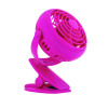 Rexel Joy 4 inch Mini Desk Fan Pretty Pink 2104407