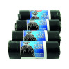Safewrap Refuse Sack 20 Per Roll (Pack of 4) Black 0446