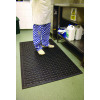 Kitchen Mat 850 x 1400mm Black (Made from 100% Nitrile) 319138