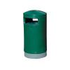Outdoor Hooded Top Bin 75 Litre Green 321771