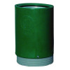 Outdoor Open Top Bin 75 Litre Green 321776