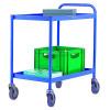2 Tier Blue General Purpose Trolley 331491