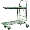 Stock Trolley Metallic Grey 373227