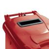 Confidential Waste Wheelie Bin 120 Litre Red 377902