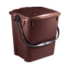 Solid Walled Kitchen Caddy 10L Brown 378479
