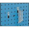 VFM Perfo System Single Tool Hook 75mm (Pack of 5) 306967