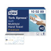 Tork Xpress Premium Soft Hand Towels Multifold 2-Ply White (Pack of 21) 100289