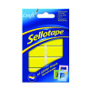 Sellotape Sticky Fixers Removable Pads 20 x 40mm Pack of 10 1445286